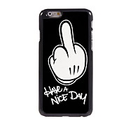 Have A Nice Day Design Aluminum Hard Case for iPhone 6