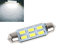 1 pcs  4W 6X SMD 5630 200-250LM 6500-7500K Cool White Decorative Decoration Light DC 12V