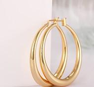 Pendiente Pendients de aro Joyas 2 piezas Chapado en Oro / Rosa Oro Plateado Mujer Dorado / Oro Rosa