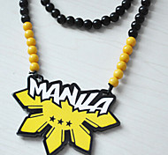 Fashion Street Dance Club For  Acrylic Necklace