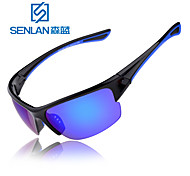 Senlan Cycling Running Boating 100% UV400 Wrap Sports Glasses