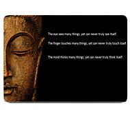 la custodia in plastica di disegno buddha di tutto il corpo di protezione di 11-inch / 13-inch MacBook Air New