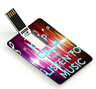 16GB Listen To Music Design Card USB Flash Drive