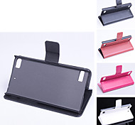 PU Leather  Protective Case With Holder Stand for BlackBerry(Assorted Colors)