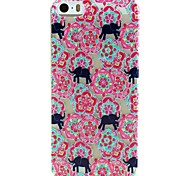 Design Especial/Transparente/Outros/Inovadora/Feito na China/Animal/Flor - iPhone 5/iPhone 5S - Capa traseira (