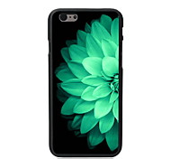 Half Beautiful Flower Design PC Hard Case for iPhone 6