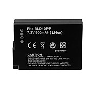 900mAh Camera Battery Pack for PANASONIC  DMW-BLD10E((T)