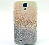 For Samsung Galaxy Case Pattern Case Back Cover Case Glitter Shine TPU Samsung S4