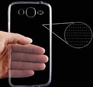 Para Funda Samsung Galaxy Ultrafina / Transparente Funda Cubierta Trasera Funda Un Color TPU Samsung Trend 3