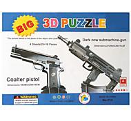 bricolage pistolet double 3D Puzzle