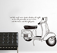 marcas de moto removíveis ambientais&adesivo