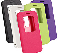 PU Wallet Ultra-Thin Voltage Window Mobile phone Holster for LG G2mini(Assorted Color)