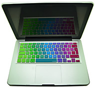 """Coosbo® EU Type Colorful Silicone Keyboard Protection Cover Skin for 13"""",15"""",17"""" Mac Macbook Air Pro Retina"""
