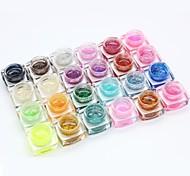 nail art photothérapie démontable brille gel de couleur du diamant (8 ml, couleurs assorties)