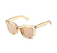 100% UV400 gafas de sol de la personalidad fahsion marco transparente