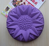 Bakeware Silicone Sunflower Baking Molds for Chocolate Cake Jelly (Random Colors)