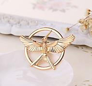 2015 New Arrival Movie The Hunger Game 3 Bird Brooches Alloy Pins Couple Brooches