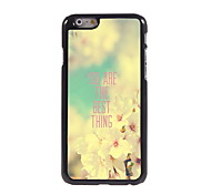 You Are The Best Thing Design Aluminum Hard Case for iPhone 6