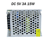 AC input 85-265V,DC output 15W 5V 3A LED power supply