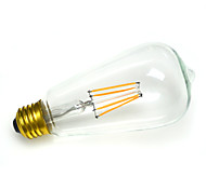 [Φ6.4*H13.3CM] Dimmable E27 3.2W 280-330LM 2300K Ultra Warm White Tungsten Filament LED Bulb (110V/220V)