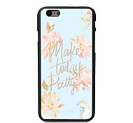 Make Today Pretty Design PC Hard Case for iPhone 6