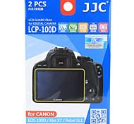 JJC caméra lcp-100d film écran de film de protection pour Canon 100d baiser x7 rebelle sl1