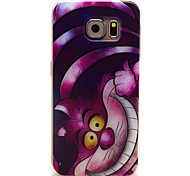 Big Face Cat Pattern TPU Soft Cover for Samsung Galaxy S6