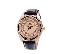 relógio de quartzo de diamante dos homens de negócios de moda high-end casuais