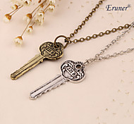Eruner®2015 Hot Movies The Key To 221B A Sherlock Necklace Pendants The New