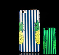 Pineapple Pattern Glow in the Dark Case for iPhone 6 Cover
