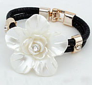Fashion Party/Casual Alloy/Rhinestone Braided/Cord Bracelet For Women Four Colors