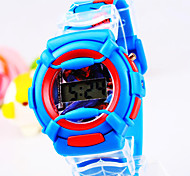 Unisex New Round Dial Pointer Silicone Electronic Watch (Assorted Colors)