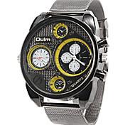 The metal men multifunctional business quartz watch movement OULM6200