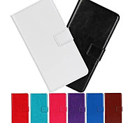 Flip Case, Leather Wallet Case for HTC M9(Assorted Colors)