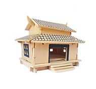 Wooden Puzzle 3 D Cabin