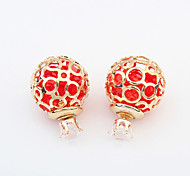 The New European Style Hot Ball Beautifully Pierced Earrings