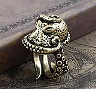 Lureme® Fashion Vintage Man's Alloy Octopus Shape Ring