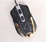 ZERODATE F5 Wired Mouse of  USB for Gaming