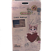 For Samsung Galaxy A3 USA Banner Compatible Graphic PU Leather Full Body Cases/Cases with Stand