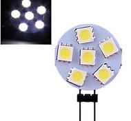 1 stuks ding yao G4 3W 6 SMD 5050 120 LM Warm wit / Koel wit 2-pins LED-lampen DC 12 V