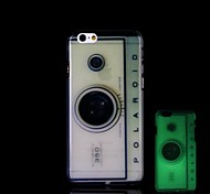 Camera Pattern Glow in the Dark Hard Case for iPhone 6 Plus
