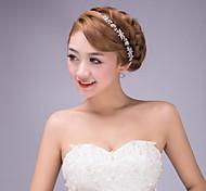 Women's Rhinestone/Stainless Steel Headpiece - Wedding/Special Occasion Head Chain