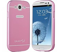 Fashion Special Design High-Grade Metal Back Cover for Samsung Galaxy S3 I9300