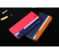 Special Design PU Leather Full Body Case Wallet Case Case with Kickstand for iPhone 6 (Assorted Colors)
