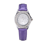 Women's Watch Diamante Bling Bling Leather Watch