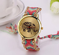 Elephant Friendship Bracelet Watch GENEVA Watch Ladies Quarzt Watches