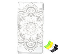 Elephant Pattern TPU Soft Cover and Stand for Sony Xperia Z3