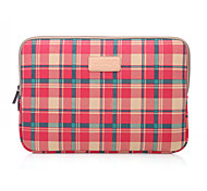 Checked Pattern Laptop Cover Sleeves Shakeproof Case for MacBook Air 13''/MackBook Pro 13'' with Retina
