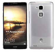schwarz pomelo® transparente Licht Fall für Huawei Ascend Kollege 7