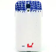 el patrón zorro TPU suave para mini i9190 Samsung Galaxy S4